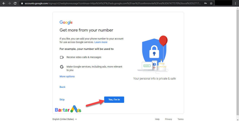 نحوه ورود به اکانت گوگل ادز